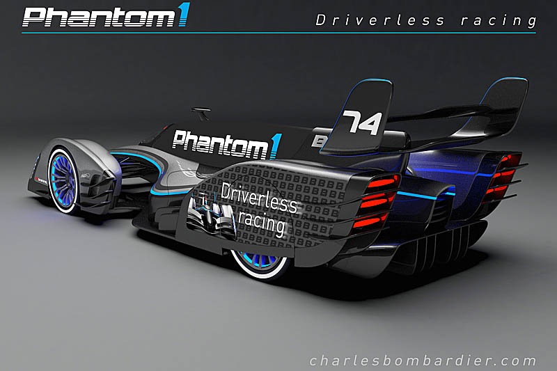 A vision of the future  the driverless race car  Pitpasscom