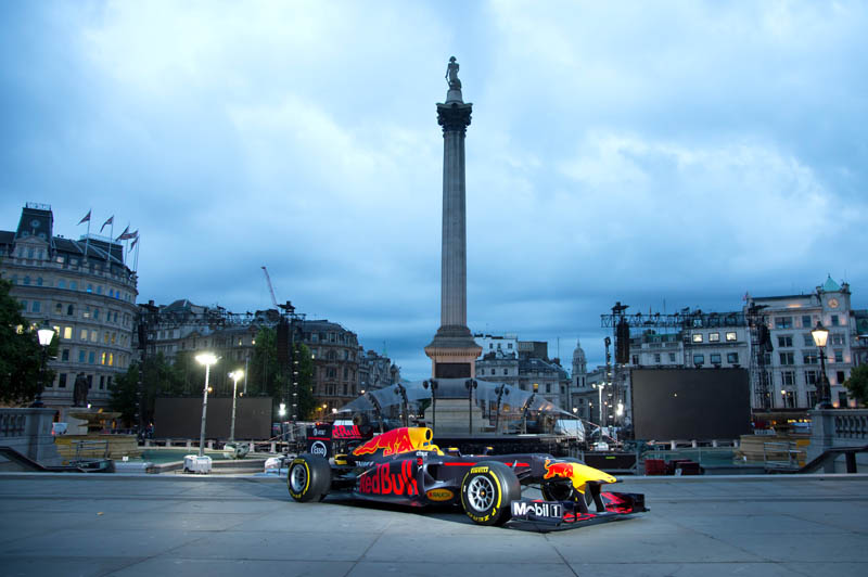 F1 to hit London's Trafalgar Square with huge live show